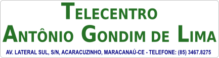 Telecentro Antônio Gondim de Lima