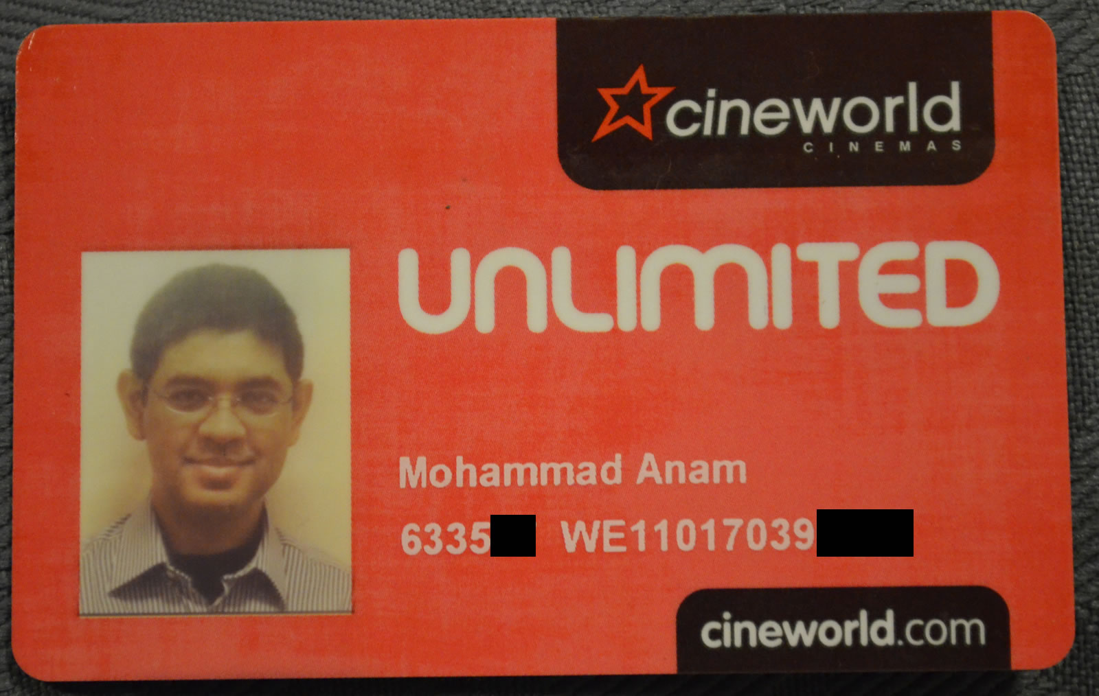 cancel cineworld unlimited card