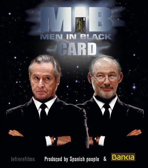 """Bankia"",""black card"",""men in black"",""película"",""otoño"",""corrupción"",""rodrigo Rato"",""Blesa"""