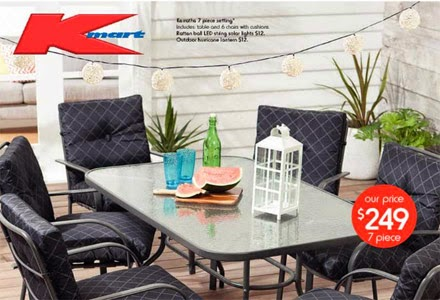 Kmart online kmart outdoor furniture catalogue australia for Outdoor furniture kmart