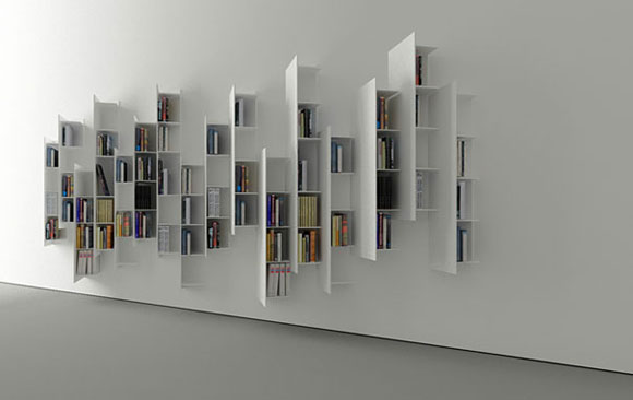 creative bookshelf design