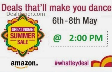 Amazon WhatTeyDeal Great Indian Summer Sale @ 6th May 2PM