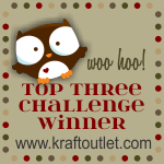 Top 3 @ The Krafty Journal 12th Sept'