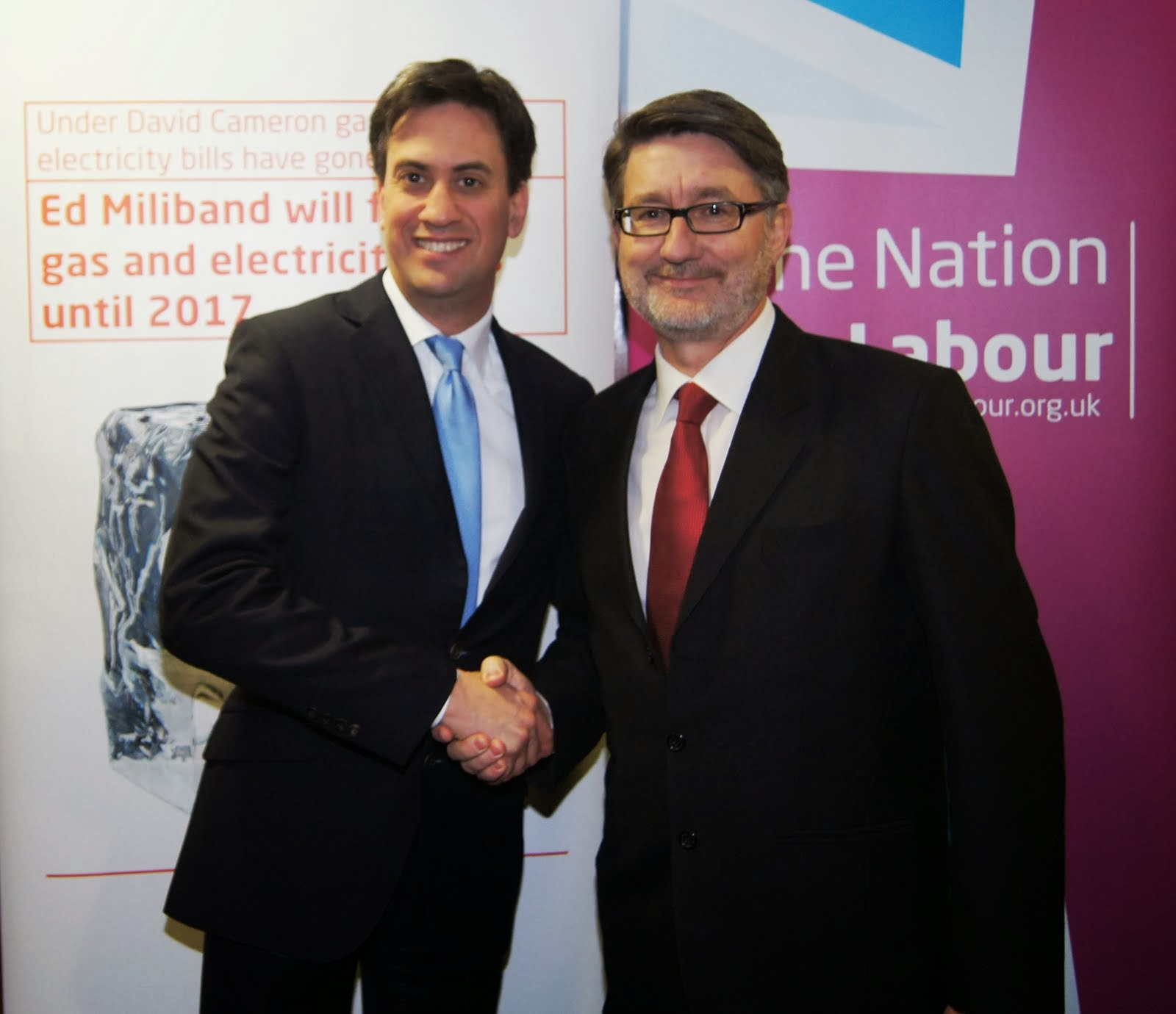 Mike Le-Surf & Ed Miliband