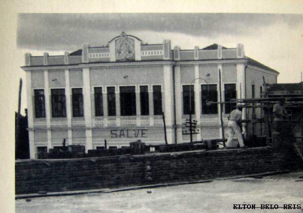 Predio do Forum Mendes Pimentel 1930 - BARBACENA MG