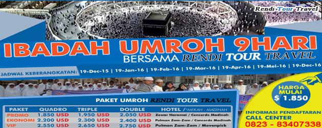 Paket Umroh dan Haji Plus