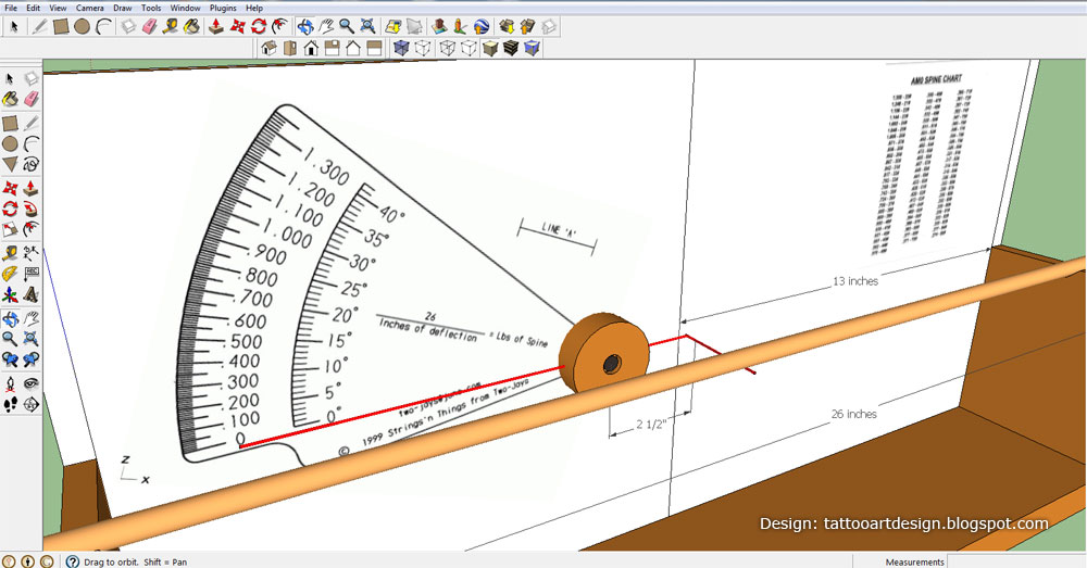ram arrow spine tester instructions