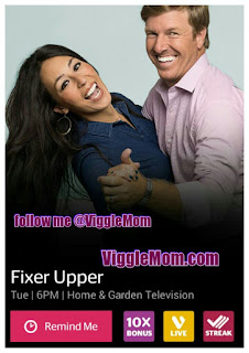 Fixer Upper, HGTV, Viggle, Viggle Live Answers, Viggle Mom, SnapMaster