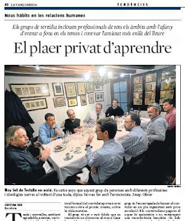 EL NOU SET A LA VANGUARDIA