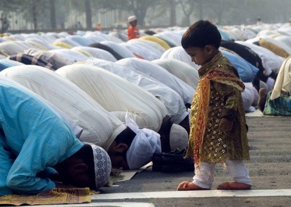 Muslimové modlitba