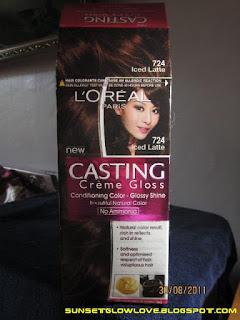 L'oreal Casting Creme Gloss in 724 Iced Latte box