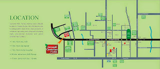 Amrapali Terrace Homes :: Location Map