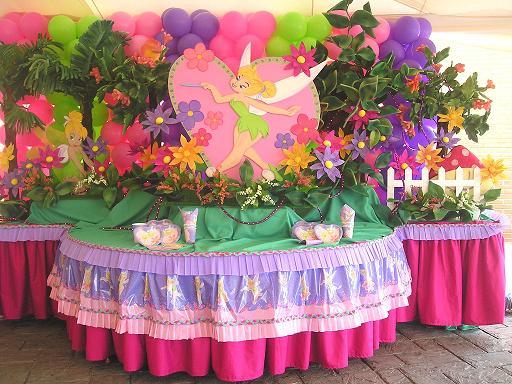 Decoraciónes de mesas de campanita - Imagui