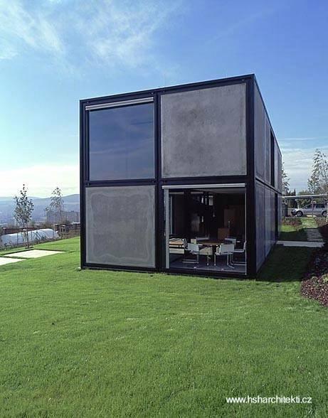 Casa prefabricada modelo a industrializar