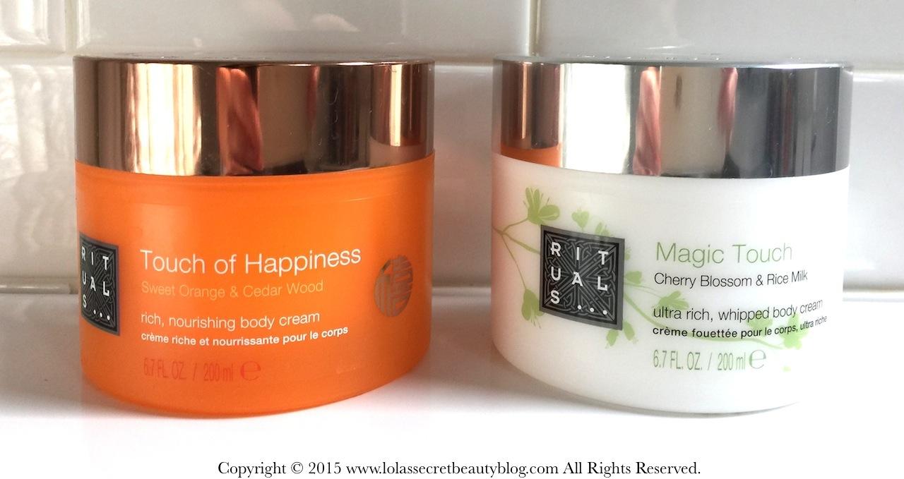 rituals magic touch body cream