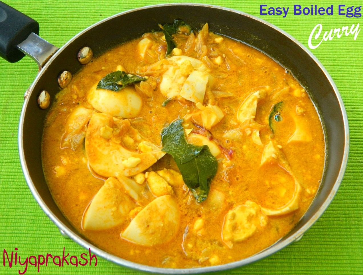 Niya's World: Easy Boiled Egg Curry