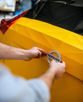 Origami car
