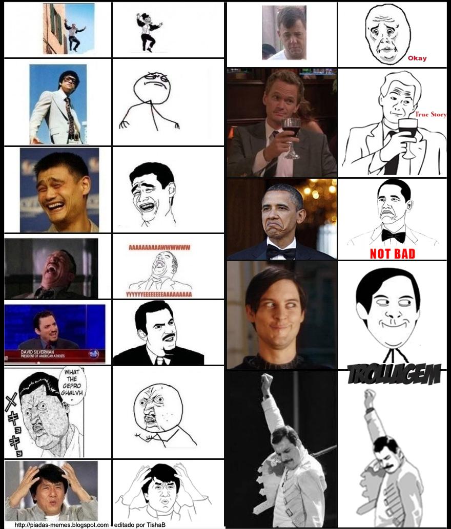 Internet cartoon memes 2012
