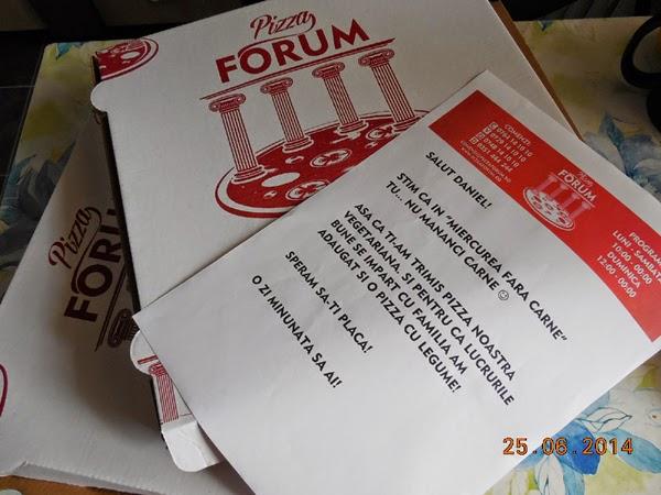 Pizza Forum, cu aluat de SM4S Craiova