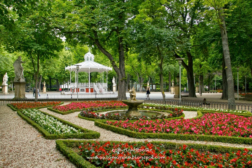 Lo que ven mis ojos viajar al pais vasco for Ciudad jardin vitoria