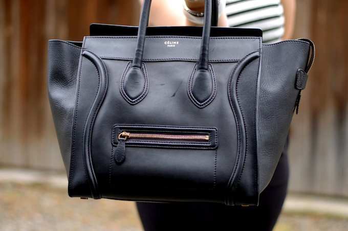 Celine Mini Luggage Tote Vancouver fashion blogger Aleesha Harris of Covet and Acquire