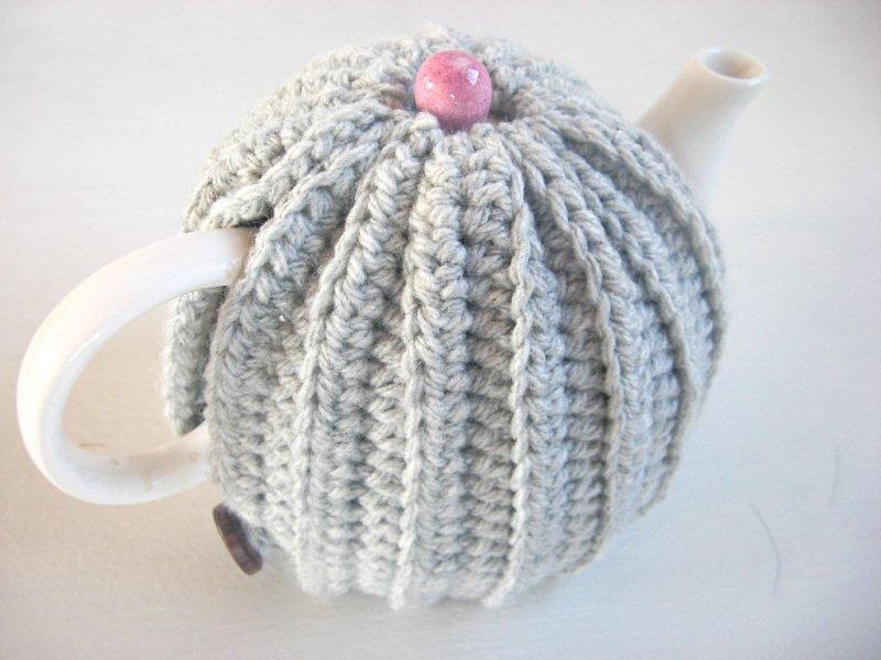 Crocheting Que Es : Crochet :: Cubretetera muy abrigado en la Revista Jengibre Diario ...