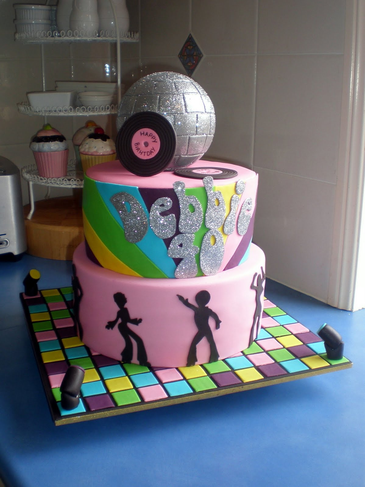 Disco Party Cake Images : Sugar Siren Cakes Mackay