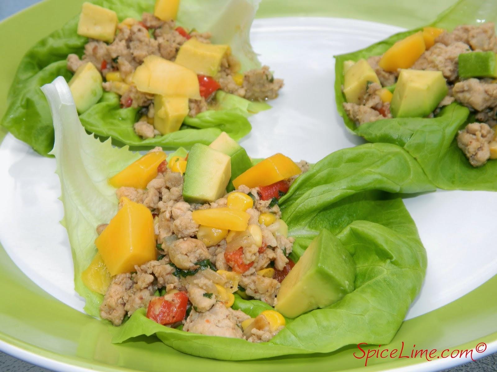 Baja Chicken Wrap Baja Chicken Lettuce Wraps