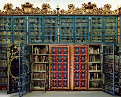 La biblioteca de la Universidad de Salamanca
