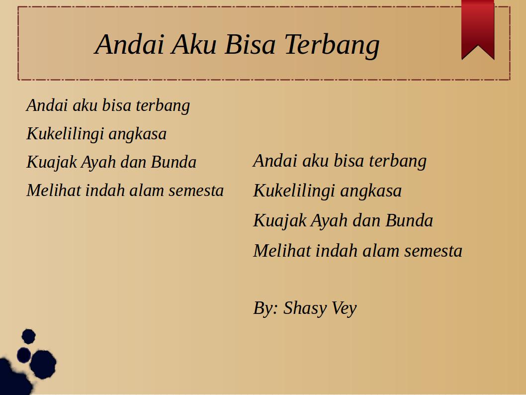 Andai Aku Bisa Terbang - Download Lagu Anak Indonesia