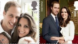 Prince William Wedding News: Prince William and Kate wedding: Royal Mail creates commemorative stamps