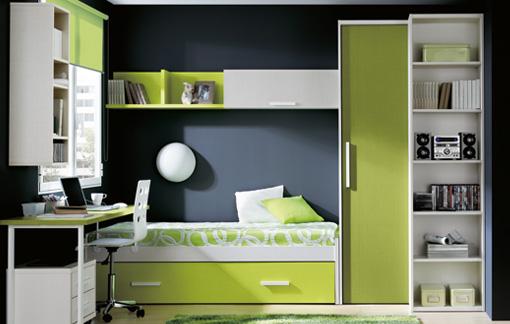 Dise os de dormitorios para adolescentes con mucho color - El mueble dormitorio juvenil ...