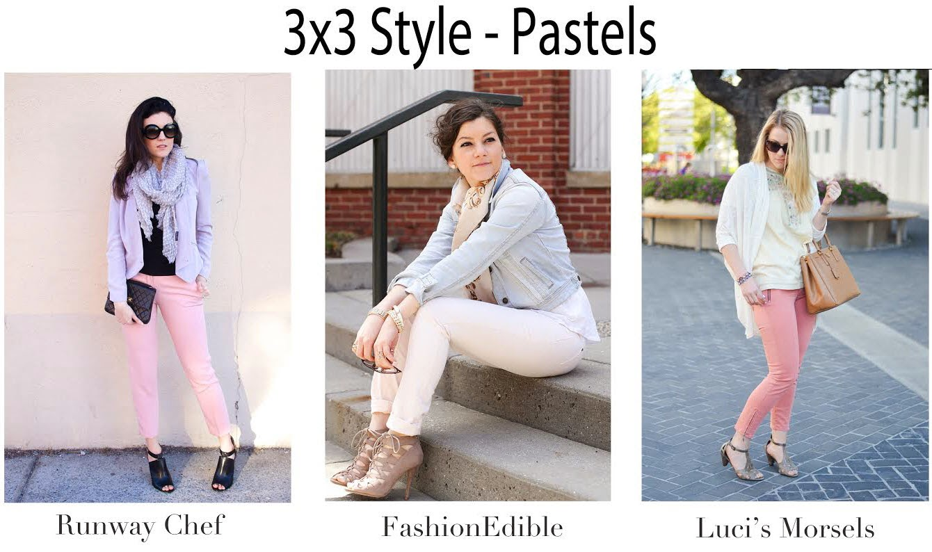 3x3 Style: Pastel Pants for Spring | Luci's Morsels