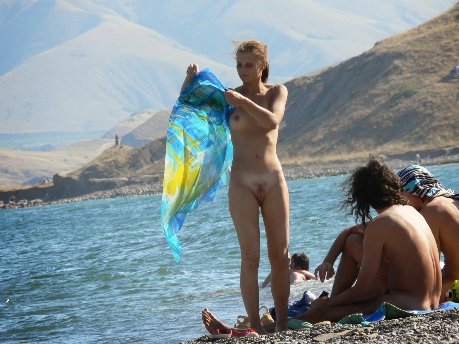Think, Nudist young family pity