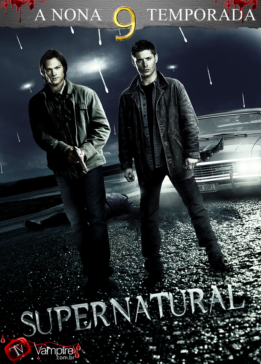 SUPERNATURAL 9º TEMPORADA (2014) Blu-Ray 720p Download Torrent Dublado