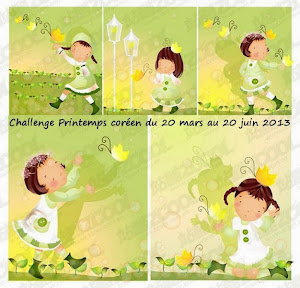 Challenge Printemps Coréen