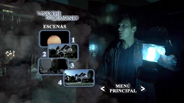 Insidious [La Noche del Demonio] DVDR Menu Full Español Latino NTSC