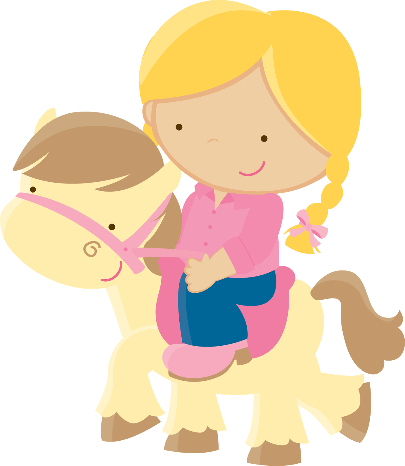 Cowboy And Pony In A Party Clipart Oh My Fiesta In English
