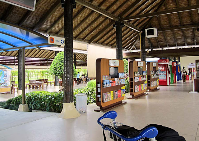 outdoor airport in Koh Samui in Thailand