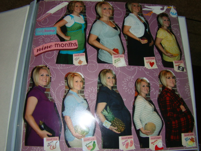 #1 - Nine Months of Belly Growth #2 - Pregnancy and Ultrasound Page ...