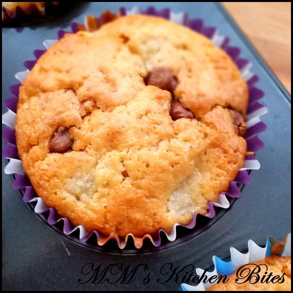 Pear (and Chocolate) Muffins