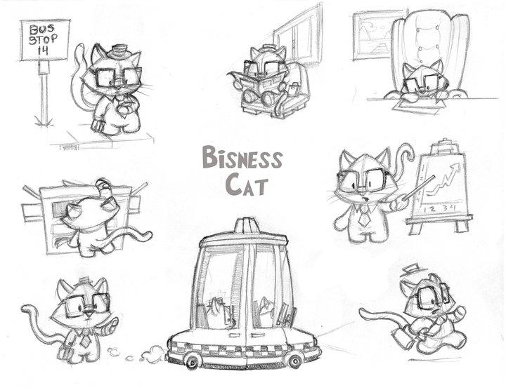 business cat. Business Cat!