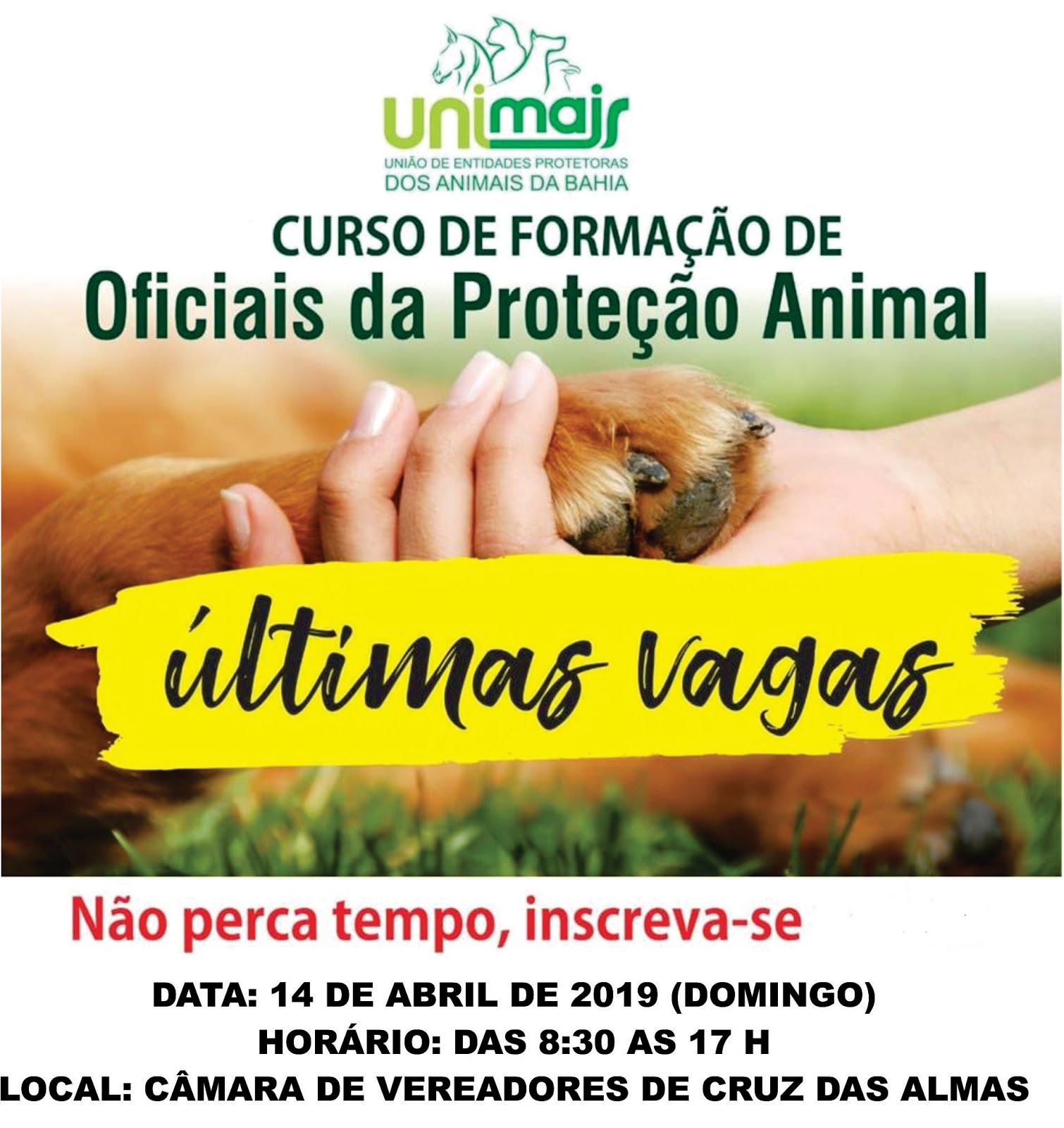 Curso de Formação de Oficiais da Proteção Animal