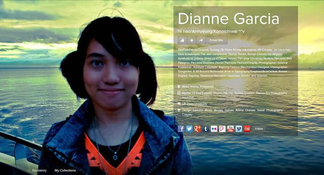 Website Designer, Dianne Garcia
