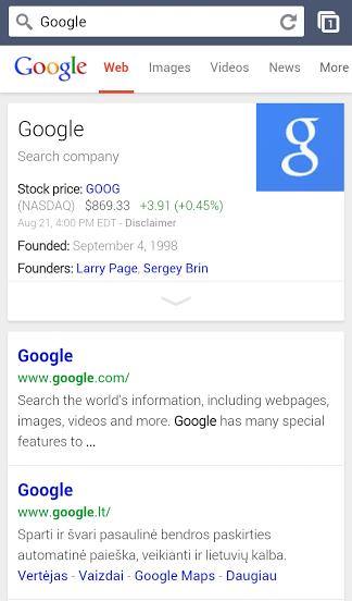 google vertejas