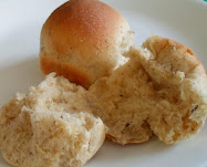 quick light rye and caraway dinner rolls