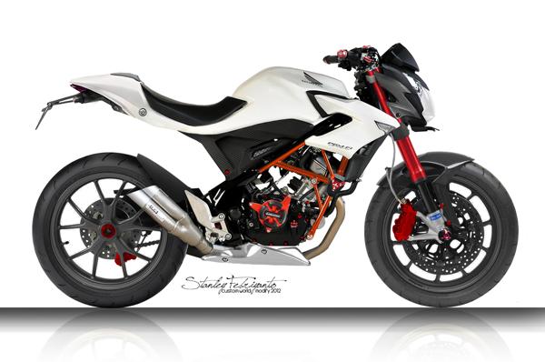 modif Honda CB150R terbaru