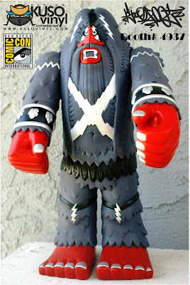 San Diego Comic-Con 2012 Exclusive Kamikaze Edition The Forest Warlord Vinyl Figure by Bigfoot One