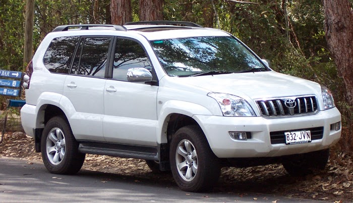 Toyota Land Cruiser terbaru