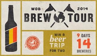 WOB Brew Tour 2014